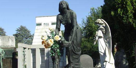Biblioteca giubileo il cimitero monumentale di torino for Noto architetto torinese